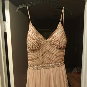 Formal Gown/Prom Dress Rose Gold